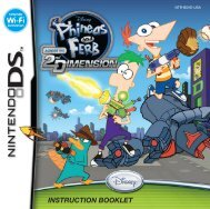 Disney Phineas and Ferb: Across the 2nd Dimension (Nintendo DS)