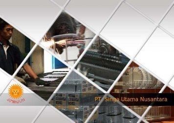Company Profile - PT. Singa Utama Nusantara
