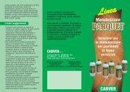 Linea Manutenzione Parquet - Carver S.r.l.