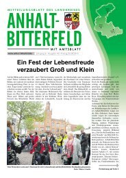 Ausgabe 10 vom 25. Mai 2012 - Landkreis Anhalt-Bitterfeld