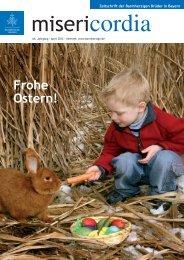 Frohe Ostern! - Orden der Barmherzigen Brüder Bayern