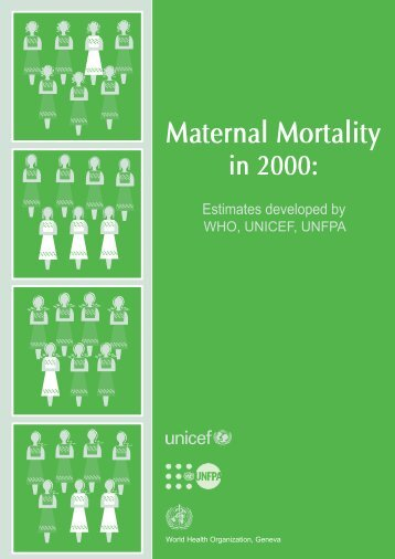 Maternal Mortality in 2000 - Childinfo.org
