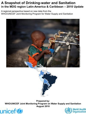 A Snapshot of Drinking-water and Sanitation in the ... - Childinfo.org