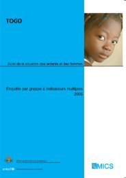 Rapport final 2006 - Childinfo.org