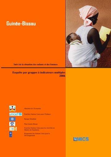 Enquête par grappes à indicateurs multiples 2006 - Childinfo.org