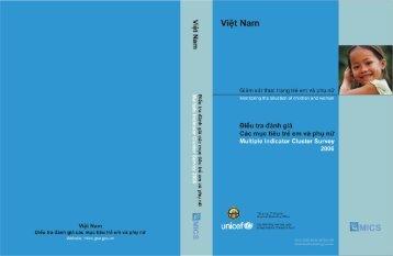 Ðiều tra đánh giá các mục tiêu về trẻ em và phụ nữ ... - Childinfo.org