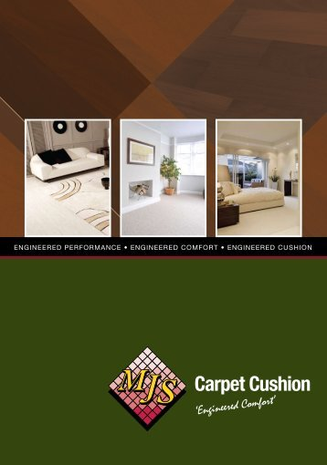 Carpet Cushion - MJS Floorcovering