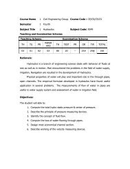 Course Name : Civil Engineering Group. Course Code : CE/CS/CR ...
