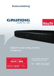 DTR 8860 - Grundig .NO