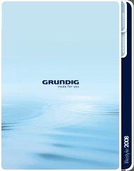 lifestyle 2008 - Grundig