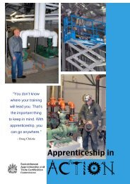 Doug Christie - Saskatchewan Apprenticeship and Trade ...