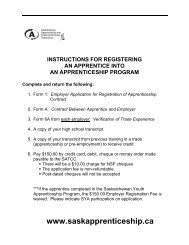 Form 1 - Saskatchewan Apprenticeship and Trade Certification ...