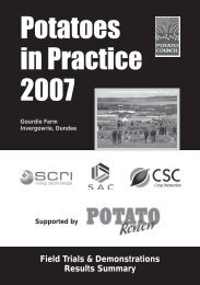 PDF file: Potatoes in Practice 2007 Field Trials Summary