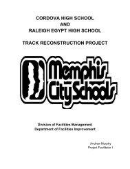 cordova high school and raleigh egypt high school track