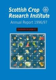 PDF file: Annual Report 1996/1997 - Scottish Crop Research Institute
