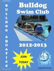 Swim Club - San Mateo County Community College District