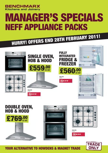 NEFF FULLY - Benchmarx Kitchens and Joinery
