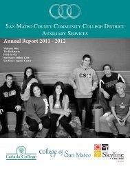 Annual Report 2011 - 2012 - San Mateo County Community College ...