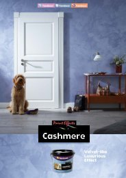 Cashmere - Tambour Paints