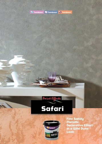 Safari - Tambour Paints