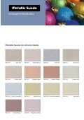 Glittering Metallic Suede - Tambour Paints - Page 2