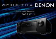 Premium AV Receiver - Audio Products Australia