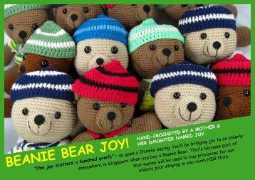 BEANIE BEAR JOY! - Teddy Thotz