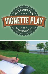 Write Your Own Vignette Play - Theatrefolk