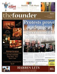 The Founder Volume 5 Issue 7