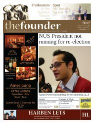 The Founder Volume 5 Issue 10