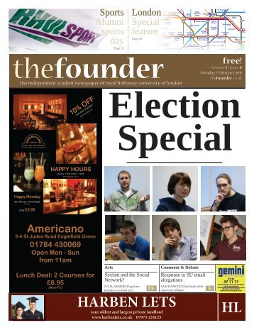 The Founder Volume 5 Issue 8