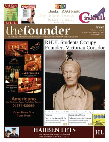 The Founder Volume 5 Issue 6