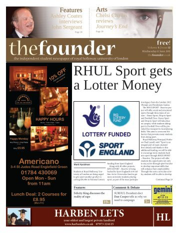 The Founder Volume 5 Issue 12