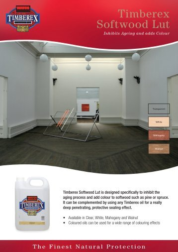 Timberex Softwood Lut - Solid Wood Flooring Company