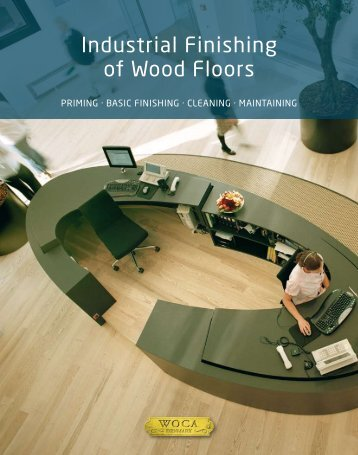 Industrial Finishing of Wood Floors - Solid Wood Flooring Company
