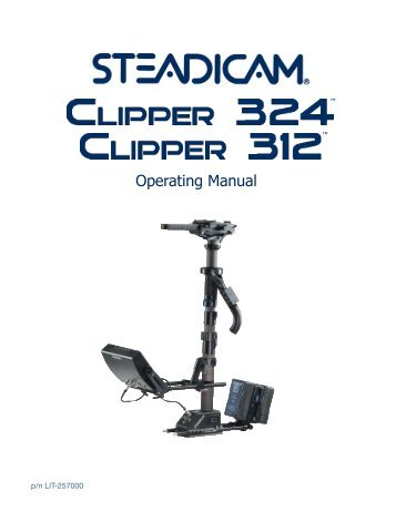 Clipper 312/324 Manual - Tiffen