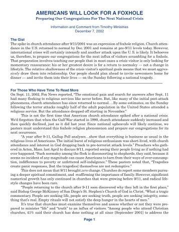 printable PDF file - Timothy Ministries