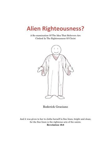 Alien Righteousness? - Timothy Ministries
