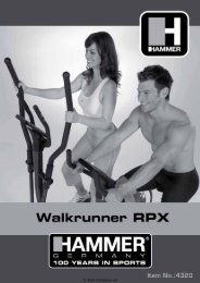 MANUALE UTENTE HAMMER SPORT ... - Bodybuilding.it