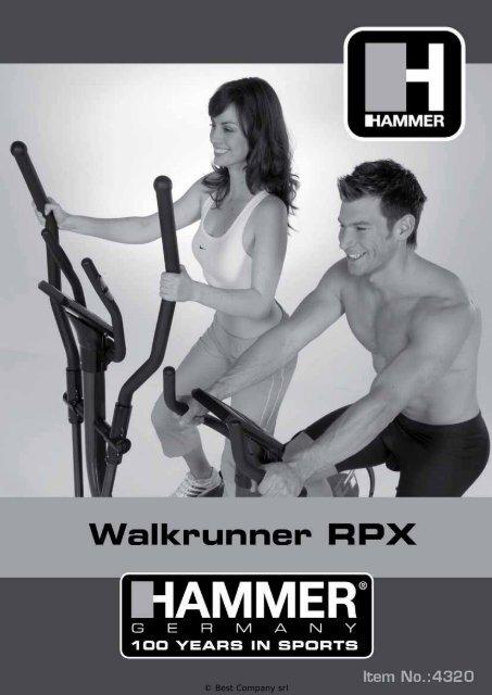 MANUALE UTENTE HAMMER SPORT ... - Bodybuilding.it