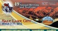 Salt Lake City Salt Lake City - Society of Toxicology