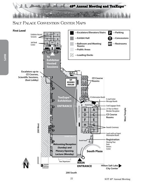 Salt Palace Convention Center Maps - Society of Toxicology on amarillo convention center map, fresno convention center map, hot springs convention center map, rochester convention center map, louisville convention center map, hartford convention center map, durham convention center map, chattanooga convention center map, lansing convention center map, arlington convention center map, sarasota bradenton convention center map, hampton roads convention center map, dallas fort worth convention center map, ft lauderdale convention center map, florida convention center map, lynnwood convention center map, mesquite convention center map, amsterdam convention center map, palm springs convention center map, reno convention center map,