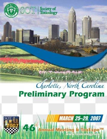 Charlotte, North Carolina - Society of Toxicology
