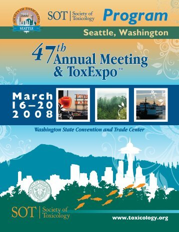 Annual Meeting Program - Society of Toxicology