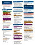 Annual Meeting Program - Society of Toxicology - Page 4