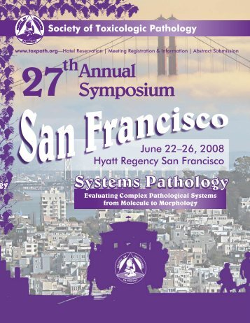 Preliminary Program - Society of Toxicologic Pathologists