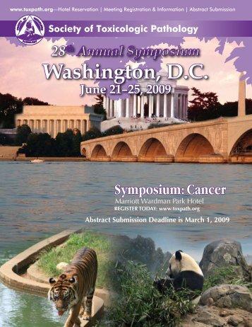 Washington, D.C. - Society of Toxicologic Pathologists