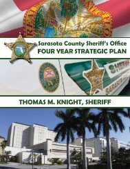 THOMAS M. KNIGHT, SHERIFF - Sarasota County Sheriff's Office