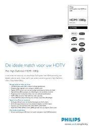 DVP5980/12 Philips DVD-speler met HDMI en USB - Hardware