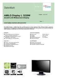 Datenblatt AMILO Display L 3220W